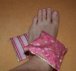 Nohy polštářky nohaM